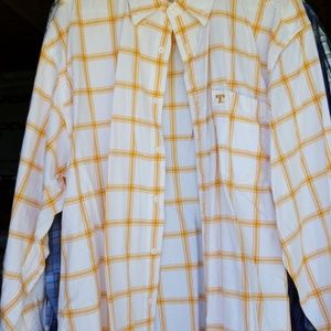 Tennessee orange and white dress shirt